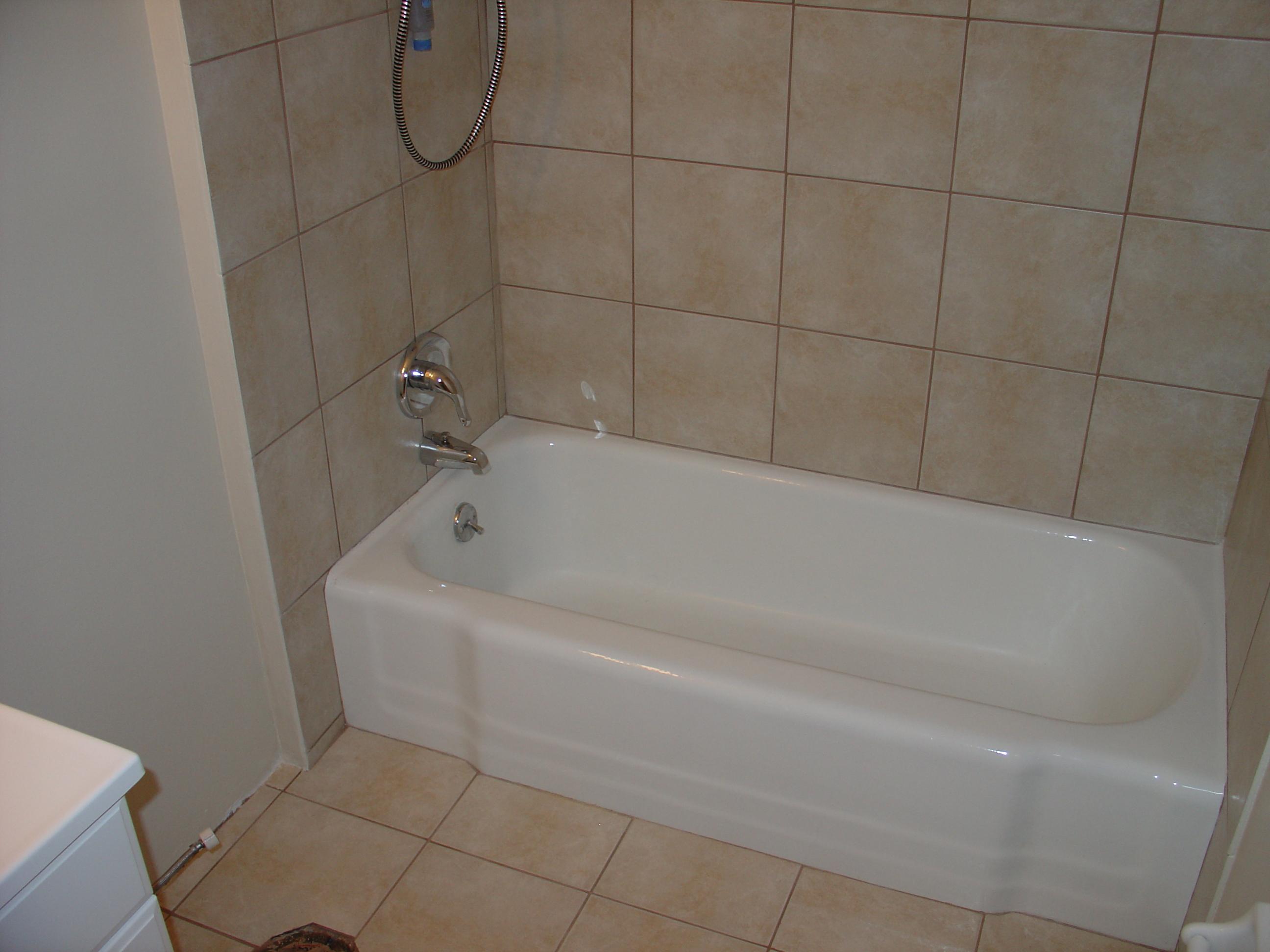 Bathtub Reglazing Refinishing Bathtub Liners St
